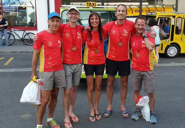 Alle Teilnehmer des Marathon-Team Ketsch 2015